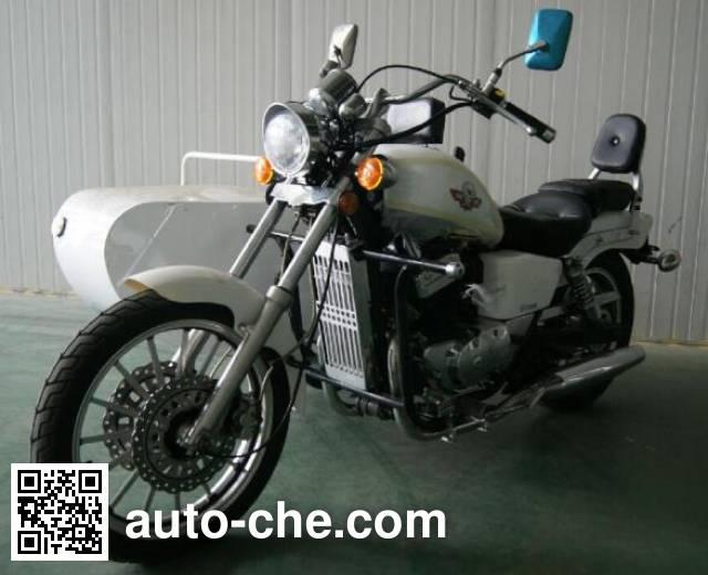 Regal Raptor motorcycle with sidecar DD350B