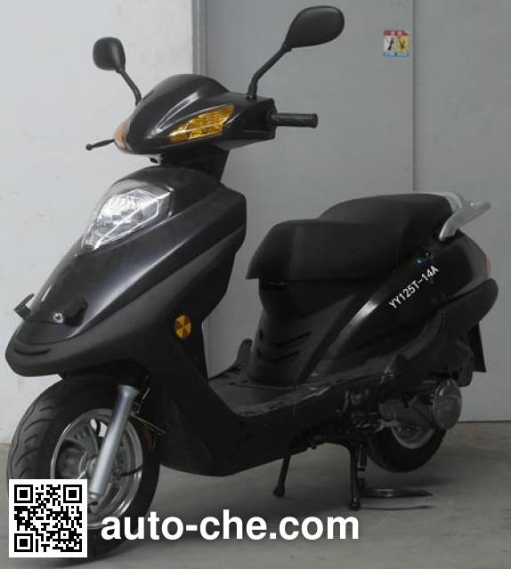 Yiying scooter YY125T-14A