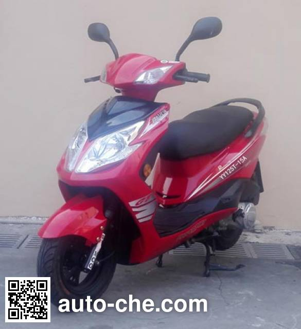 Yiying scooter YY125T-15A